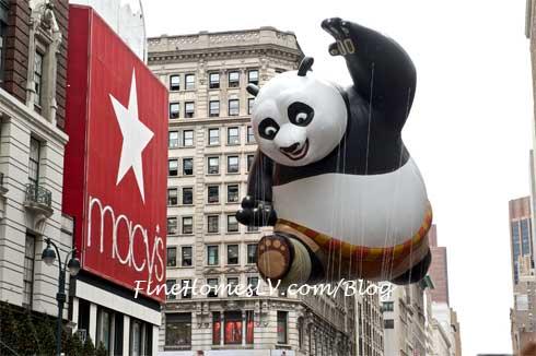 Macys Thanksgiving Day Parade Kung Fu Panda