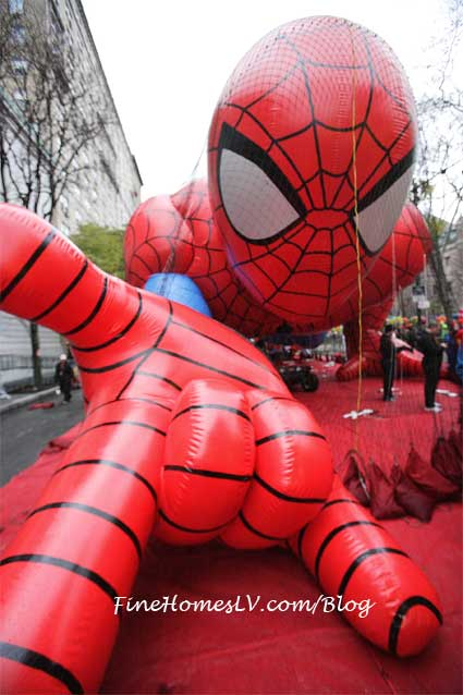 Macy's Thanksgiving Day Parade Spide Man