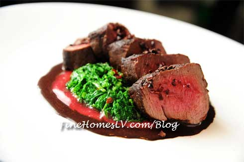 Peppered Venison Loin