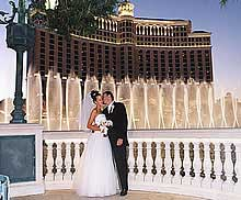 Bellagio Vegas wedding