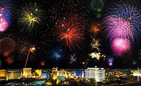 Las Vegas fireworks for 4th of July