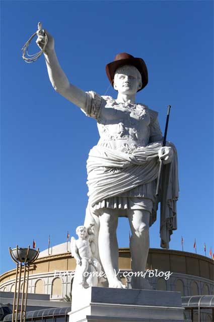 Caesar Augustus With Cowboy Hat