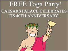 Caesars Palace Toga Party