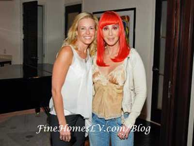 Chelsea Handler and Cher