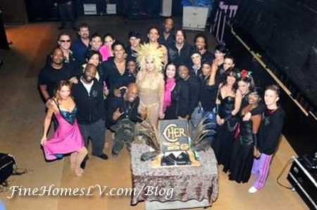 Cher's 100 Las Vegas Show