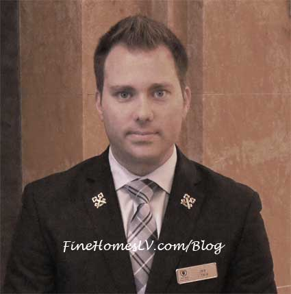 Caesars Palace Concierge Jas Vitale