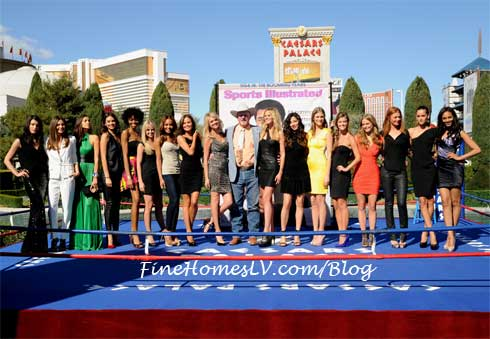 Sports Illustrated Swimsuit Models at Caesars Palace