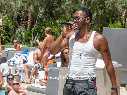 Jason Derulo at Venus Pool