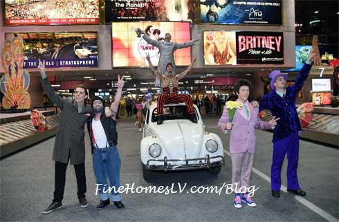 The Beatles LOVE at Las Vegas Airport