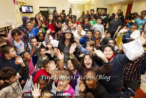Criss Angel and Boys and Girls Club Las Vegas