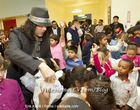 Criss Angel and Boys and Girls Club