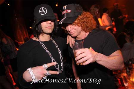 Criss Angel and Carrot Top