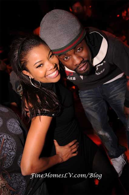 Gabrielle Union and Wale