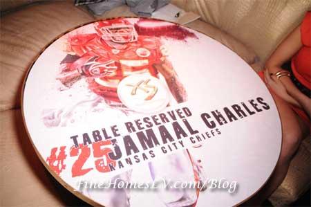 Jamaal Charles Tabletop