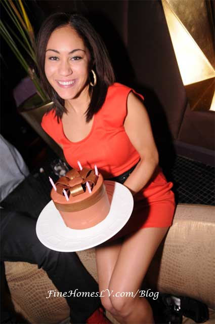 Whitney With Birthday Cake