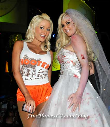 Holly Madison and Bridget Marquardt
