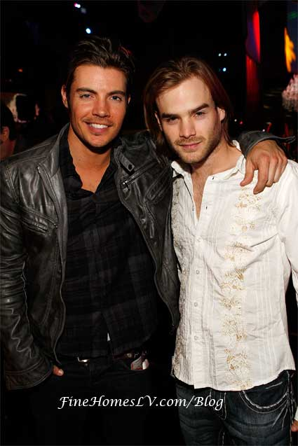 Josh Henderson and David Gallagher