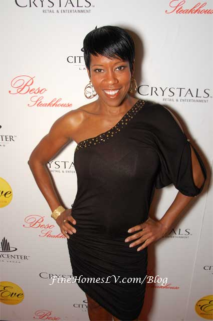Regina King at EVE Nightclub
