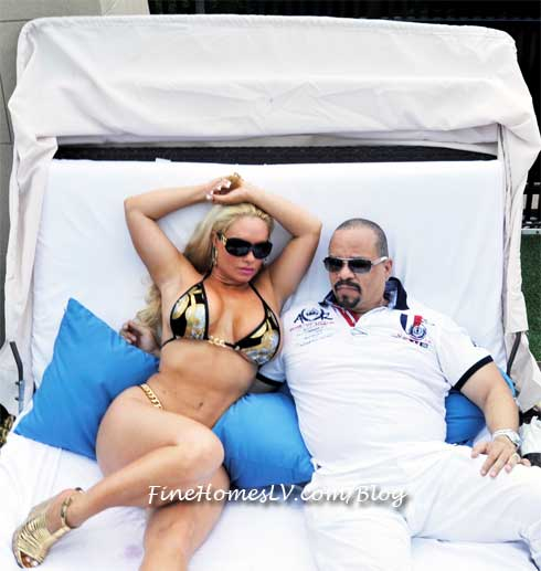 Ice T and Coco at Liquid Sundays