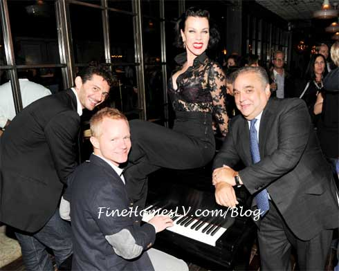 Debi Mazar at NY Wine and Food Festival's Chef's After Party