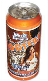 Hooters Energy Drink