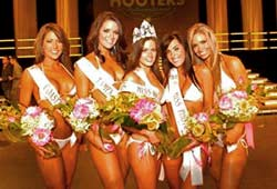 Hooters Top Five Winners