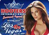 Hooters Girls Swimsuit Pageant 2006