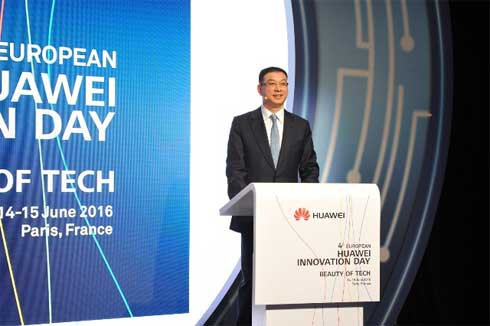William Xu At Huawei Innovation Day