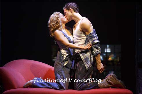 Ghost The Musical Kiss On Sofa