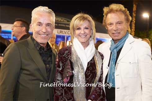 Guest, Elaine Wynn and Siegfried