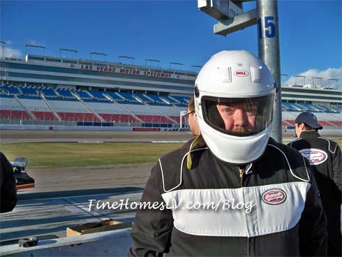 Chris At Dale Jarrett Racing Adventure