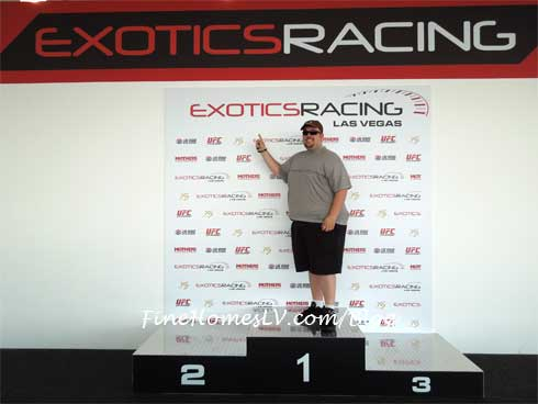 Chris at Exotics Racing