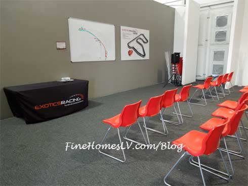 Classroom at Exotics Racing