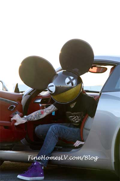 Deadmau5 at Exotics Racing