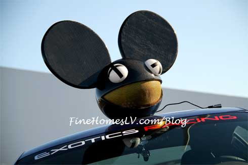 Deadmau5 at Exotics Racing Las Vegas