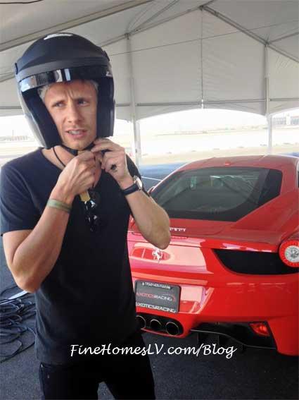 Dominic Howard at Exotics Racing