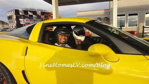 Shane Mosley In Corvette Z06