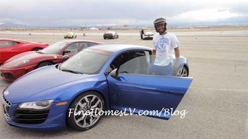 Shane Mosley at Exotics Racing