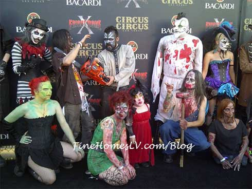 Fright Dome Freak Clowns