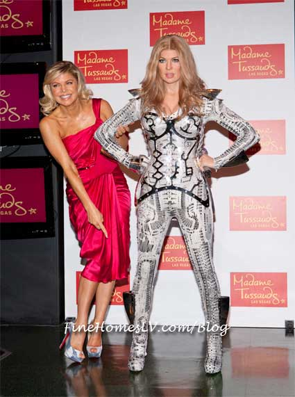 Fergie Wax Figure