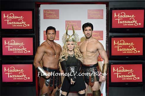 Madonna Wax Figure at Madame Tussauds