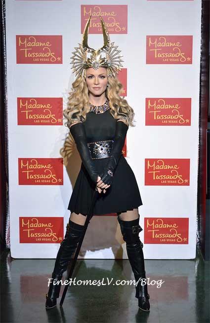 Madonna Wax Figure