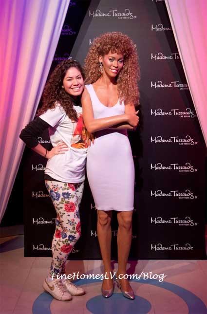 Whitney Houston Wax Figure