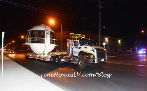 High Roller Passenger Cabin Delivered