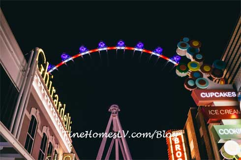 High Roller Lit Red White and Blue
