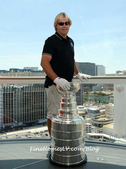 Phil Pritchard And The Stanley Cup On The High Roller