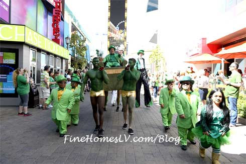 Leprechauns at St Patricks Day BLOQ Party