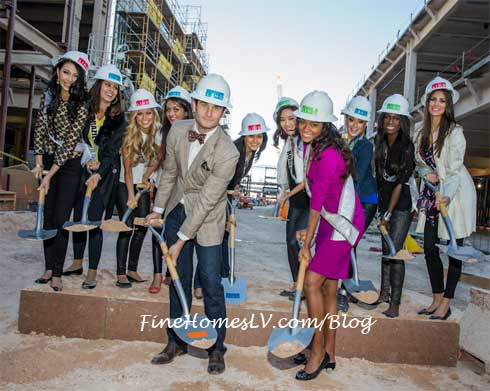 MISS Universe Contestants At The LINQ