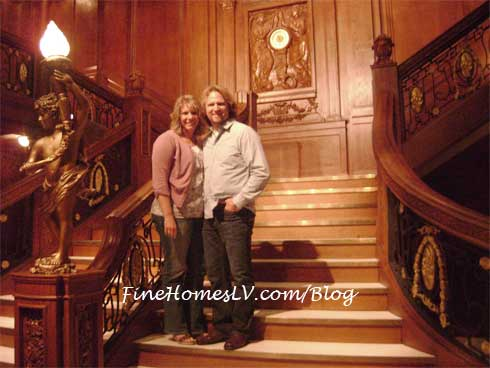 Kody Brown & Meri of Sister Wives At Titanic: The Artifact Exhibition