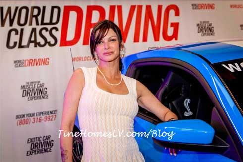 Carla Pellegrino and World Class Driving